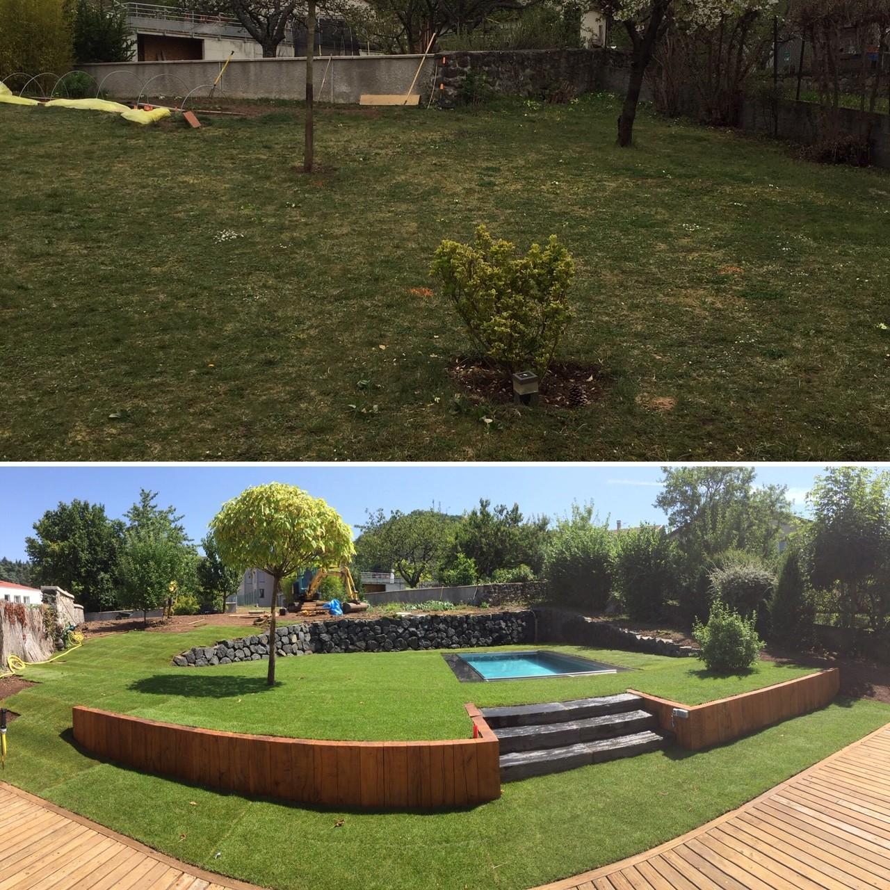 Réalisation et agencement Jardin - ©Instant Paysage